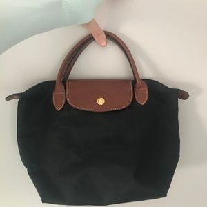Longchamp Mini Le Pilage folding tote